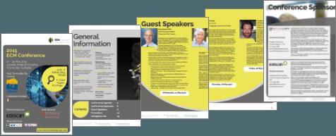 ECM Conference Program image